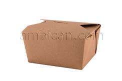 BIOK1-Paper Food Box Kraft No.1 (360)-788